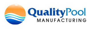 quality pool manufacturing logo
